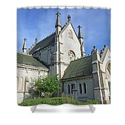 Gothic Chapel, Indianapolis, Indiana Shower Curtain