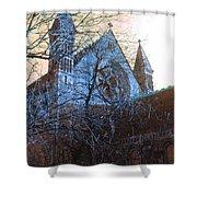 Gothic Church Shower Curtain
