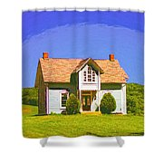 Gothic Dream Shower Curtain