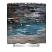 Gothic Easter Shower Curtain