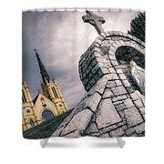 Gothic Faith Shower Curtain