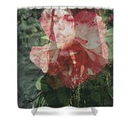 Gothic Flower Shower Curtain