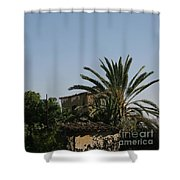 Gothic Gate Cyprus Shower Curtain