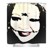 Gothic Joker Shower Curtain