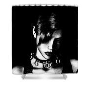 Gothic Mistress Shower Curtain