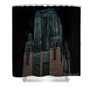 Gothic Night. Architecture Of Los Angeles Shower Curtain