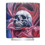 Gothic Romance Shower Curtain by Isabella F Abbie Shores FRSA