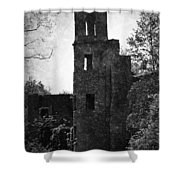 Gothic Tower At Blarney Castle Ireland Shower Curtain
