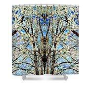 Gothic Winter Shower Curtain