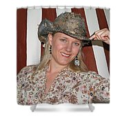 Gotta Love That Hat Shower Curtain