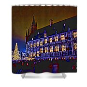 Gouda By Candlelight-1 Shower Curtain