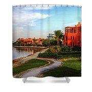 Gouna, Hurghada, Egypt  Shower Curtain