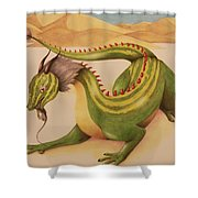 Gourd Dragon Shower Curtain