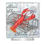 Gourmet Shellfish 2 Shower Curtain