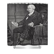 Gouverneur Morris 1752-1816. American Shower Curtain