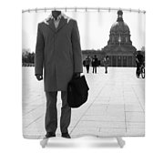 Governed Notes  Shower Curtain