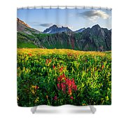 Governor's Basin In Bloom Shower Curtain