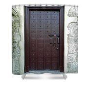 Governors Door Shower Curtain