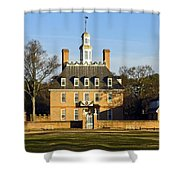Governor's Palace Williamsburg Shower Curtain