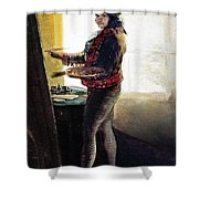 Goya: Self-portrait Shower Curtain