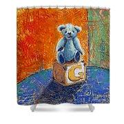 Gq Teddy Shower Curtain