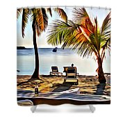Grabbers View Shower Curtain