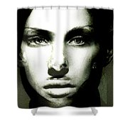 Grace Fights Back Shower Curtain