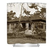 Grace H Dodge Chapel Auditorium Asilomar Circa 1925 Shower Curtain