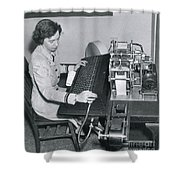 Grace Hopper, American Computer Scientist Shower Curtain