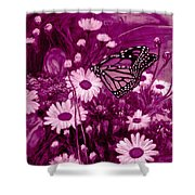 Grace In Pink Shower Curtain