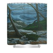 Grace Lake Shower Curtain