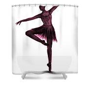 Grace - Pink Shower Curtain