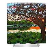 Grace Sunrise Shower Curtain