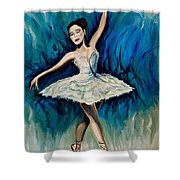 Graceful Dance Shower Curtain