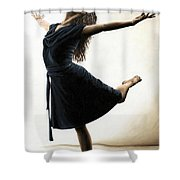 Graceful Enlightenment Shower Curtain