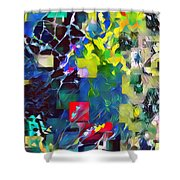 Graceful II Shower Curtain