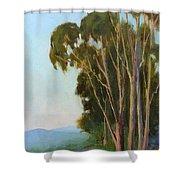 Graceful Sentinels Shower Curtain