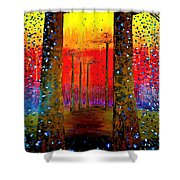 Graceland  Shower Curtain
