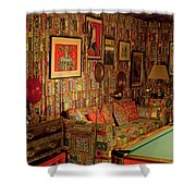 Graceland The Home Of Elvis Presley, Memphis, Tennessee Shower Curtain