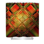 Gradient Play Shower Curtain
