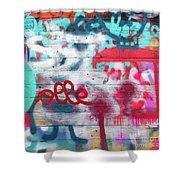 Graffiti 1 Shower Curtain