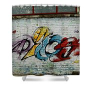 Graffiti 1 Shower Curtain