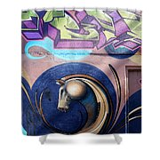 Graffiti 10 Shower Curtain
