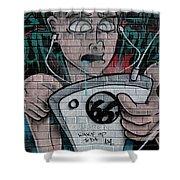Graffiti 13 Shower Curtain