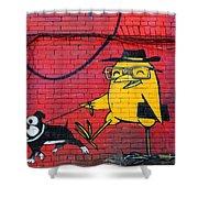 Graffiti 15 Shower Curtain