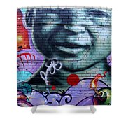 Graffiti 18 Shower Curtain