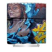 Graffiti 19 Shower Curtain