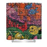 Graffiti 20 Shower Curtain