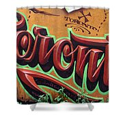 Graffiti 22 Shower Curtain