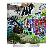 Graffiti 3 Shower Curtain